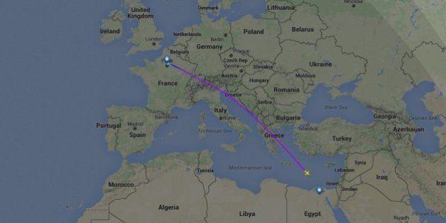 EN DIRECT. Le vol Egyptair MS804 entre Paris et Le Caire s'abîme au large de l'île grecque de