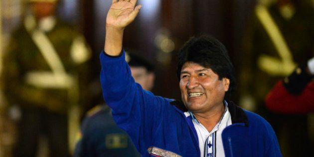 Evo Morales élu une troisième fois en Bolivie, un