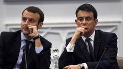 Salaire des patrons: Macron contredit Valls (et se contredit