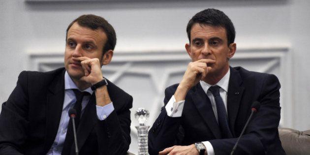 Salaire des patrons: Macron contredit Valls et se contredit