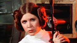Le nouveau look de la princesse Leia