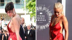 La robe très dénudée de Bella Hadid en rappelle une