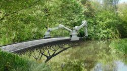Construire un pont c'est old, l'imprimer c'est