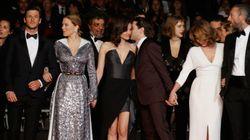 Les décolletés très glamour de Léa Seydoux, Marion Cotillard et Nathalie Baye à