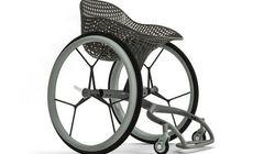 Ce fauteuil roulant sur-mesure est imprimé en
