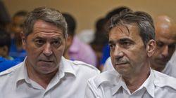 Les pilotes d'Air Cocaïne placés en détention