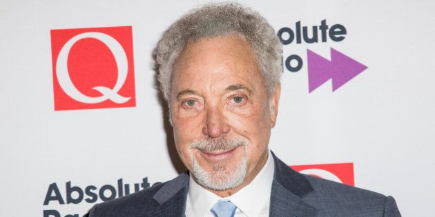 Tom Jones poses for photographers after the Q Awards ceremony in London, Monday, Oct. 19, 2015. (Photo...