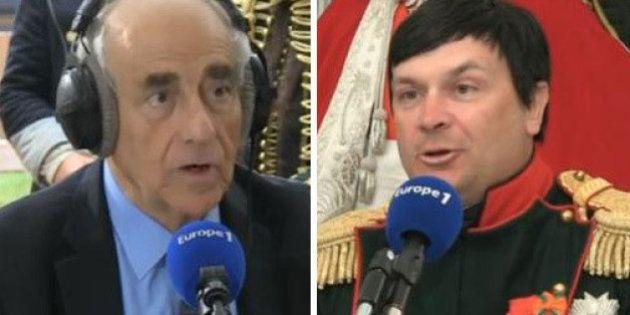 VIDÉO. Jean-Pierre Elkabbach interviewe... Napoléon sur