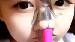 Cette façon de twerker avec son nez est
