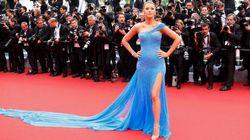 Pourquoi la robe fendue, star de Cannes, est une très bonne