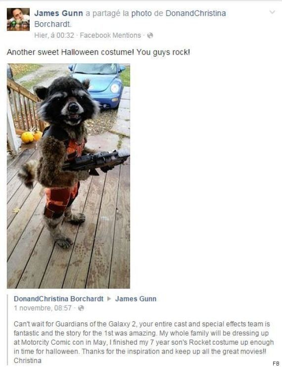 PHOTOS. Cet enfant en Rocket Raccoon remporte le titre du meilleur costume d'Halloween