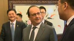 La petite blague de Hollande sur la liberté de la presse en
