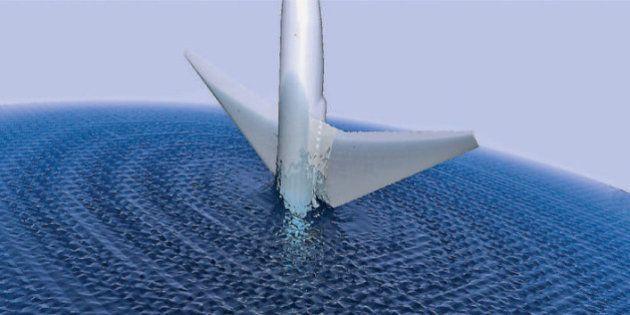 L'avion disparu de la Malaysia Airlines aurait coulé à pic selon des