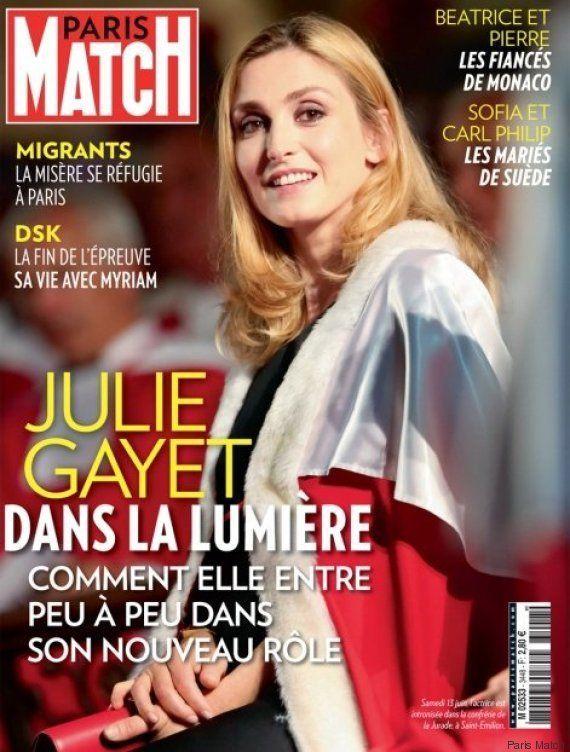 Julie Gayet: une première apparition lors d'un déplacement officiel de François