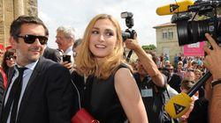 Première apparition de Julie Gayet en déplacement officiel de François