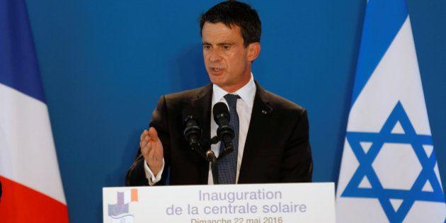 En déplacement en Israël, Manuel Valls estime que