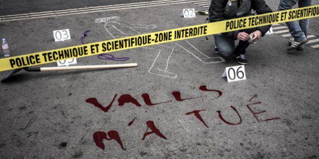 PHOTOS. La police scientifique, en grève, manifeste à Paris et dans plusieurs villes de