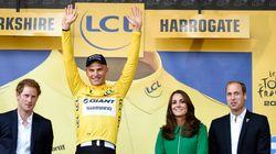 Un premier maillot jaune royal pour Marcel