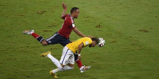 Coupe du monde 2014: Neymar a reçu une lettre d'excuses de
