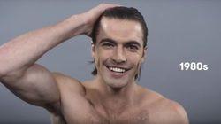 100 ans de beauté masculine résumés en moins de 2