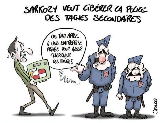 Police: Sarkozy a-t-il les bonnes