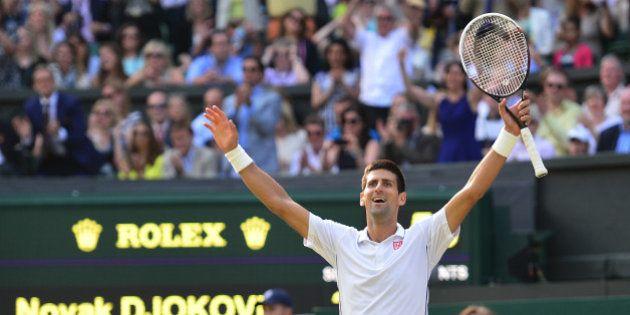 Wimbledon: l'incroyable victoire de Novak Djokovic face à Roger Federer en