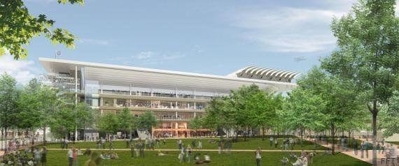 Toujours pas de toit à Roland-Garros? C'est de la faute à Hollande, taquine