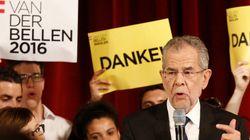 Van der Bellen bat le candidat de l'extrême droite à la présidentielle en