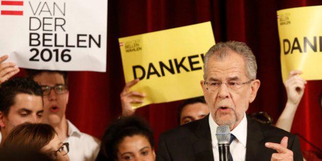 Alexander Van der Bellen remporte l'élection et devient le premier président écologiste