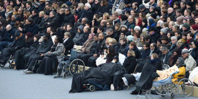 Des centaines de victimes des attentats du 13 novembre et leurs proches reçus par les juges à l'Ecole