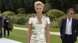 Chez Dior, Charlize Theron et Sean Penn tout feu tout