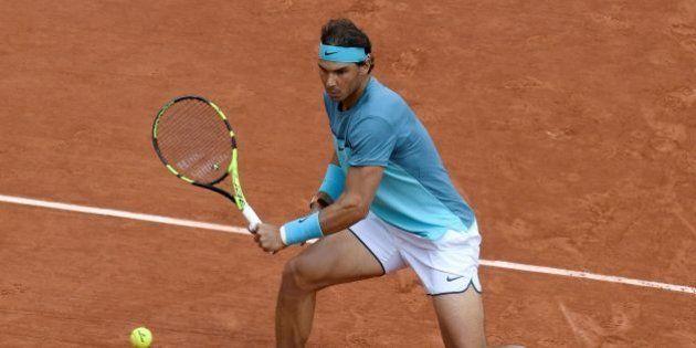 VIDÉO. Le point incroyable de Rafael Nadal à Roland-Garros face à Sam