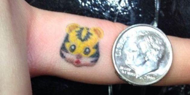 PHOTOS. Les tatouages d'emoji, une nouvelle