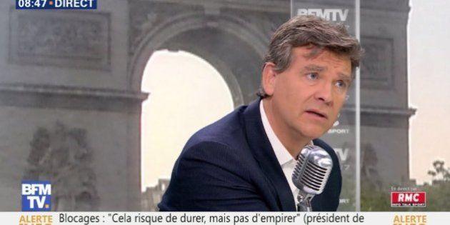 Face aux blocages, Montebourg veut un référendum sur la loi