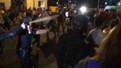 Au Nouveau-Mexique, une manif anti-Trump tourne à la bataille