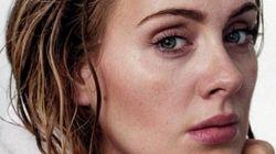 Adele sans maquillage en couverture de Rolling