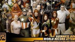 Des super-héros à Salt Lake City pour essayer d'établir un record du