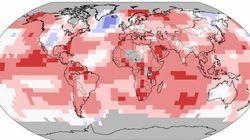 La température mondiale a battu son record de