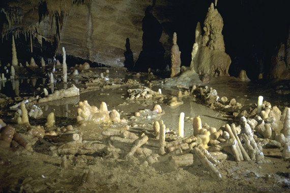 La grotte française de Bruniquel était habitée par l'homme il y a 176.000