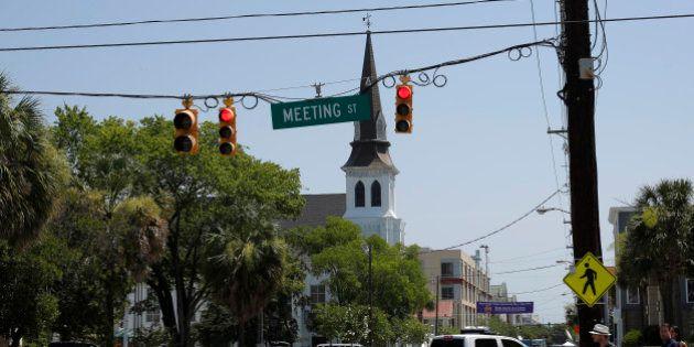 Cible de la fusillade de Charleston, l'église Emanuel, un symbole de l'histoire des noirs dans le sud...