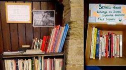 Grâce à ma librairie gratuite, j'ai redonné le sourire et le goût de la lecture à ceux qui passent dans ma