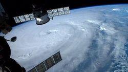 Le passage du typhon Neoguri au Japon en