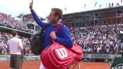 Mathias Bourgue si près de l'exploit face à Andy