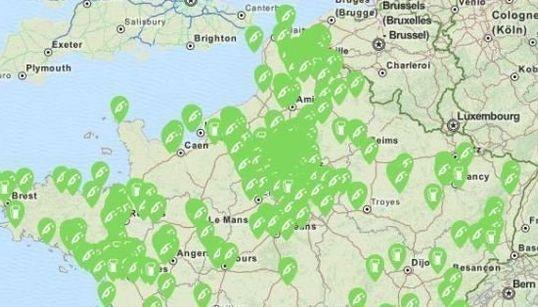 La carte en temps réel des stations service qui rouvrent près de chez vous