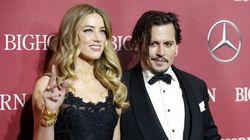 Johnny Depp et Amber Heard, c'est (déjà)
