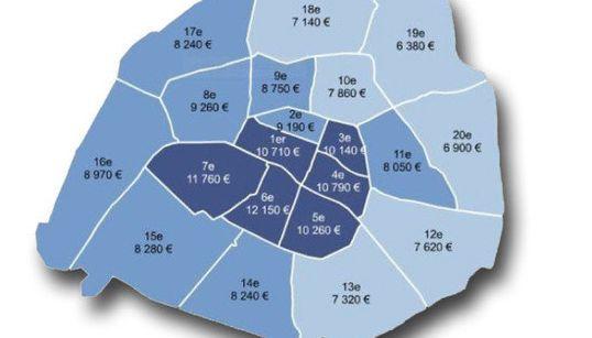 Immobilier à Paris: Les arrondissements qui repartent à la hausse (et ceux qui