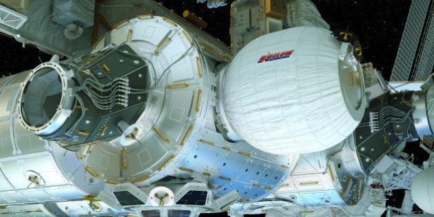La station spatiale internationale (ISS) se dote d'une nouvelle pièce