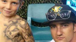 Cet artiste tatoue gratuitement (et temporairement) des enfants