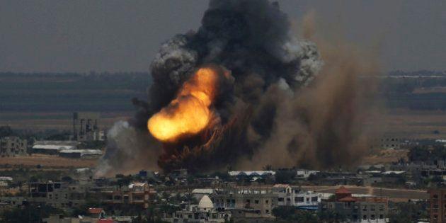 Gaza: 17 Palestiniens tués et une centaine blessés dans des raids israéliens, violentes explosions à
