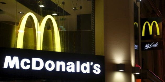 View of McDonald's logo in Paris, France, in this March 1, 2016, file photo. REUTERS/Jacky Naegelen/Files...